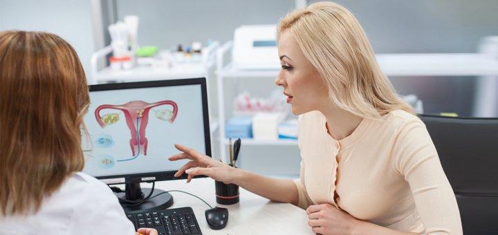 Комплексное обследование у гинеколога в медико-биологическом центре «Геном»