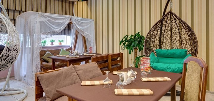 Скидка 40% на все меню кухни и бар в «Cocon Party Bar»