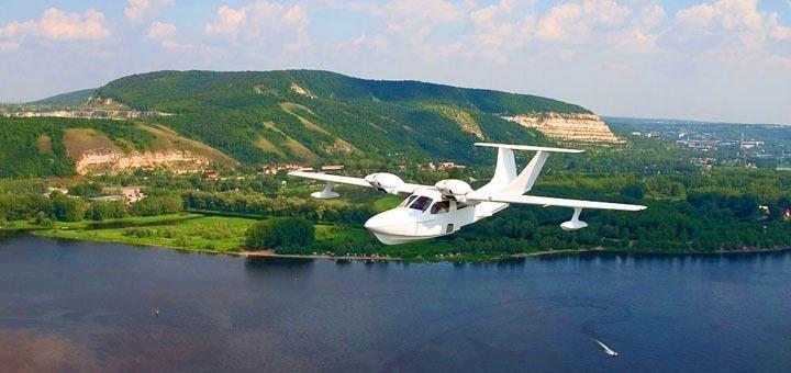 Скидка до 39% на полет на самолёте-амфибии от компании «Sun Line»