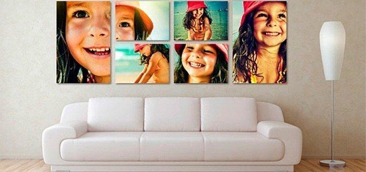Печать любых изображений на холсте разных форматов от студии фотопечати «Натали»