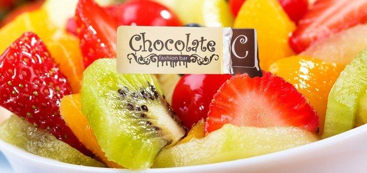 Вкусная весна в ШОКОЛАДЕ! 50% скидки на ВСЕ меню кухни и 20% на весь бар в Karaoke-lounge bar «Chocolate»!