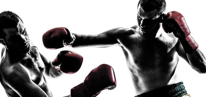 Скидка 25% на тренировки по боксу, кикбоксингу и тайскому боксу в школе боевых искусств «Славис»