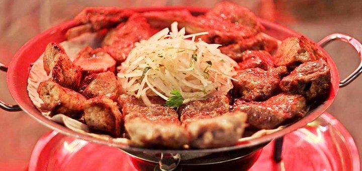 Скидка 40% на все меню в изысканном ресторане кавказской кухни «Кунаки»