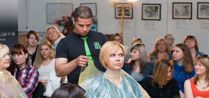 Скидка 30% на креативные стрижки с элементами HairTattoo от профессионального парикмахера Вадима Мусаева