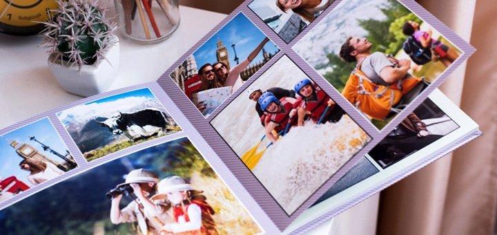 Печать фотокниги на премиум-бумаге с ламинированием в студии «Фотокнига+»