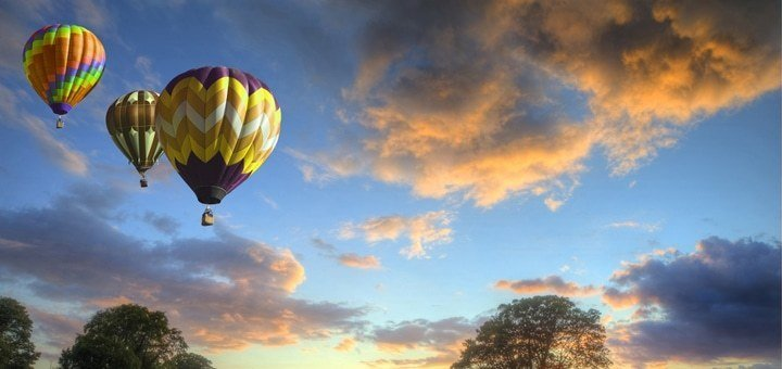 Скидка 56% на полеты на воздушном шаре от сертифицированной авиакомпании «АсАвиа Украина». Выбор даты группового полета