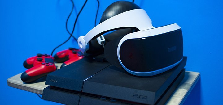 Скидка 50% на игровую консоль виртуальной реальности и Sony playstation в игровом пространстве «Skyroom»