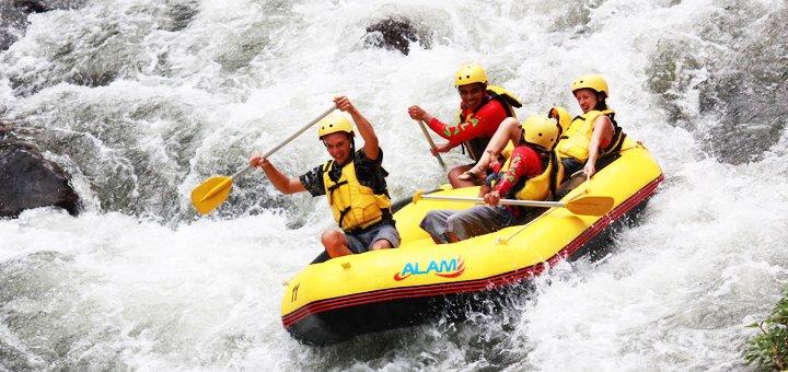 Однодневный рафтинг-тур для взрослых и детей от туристической компании «Apple travel»