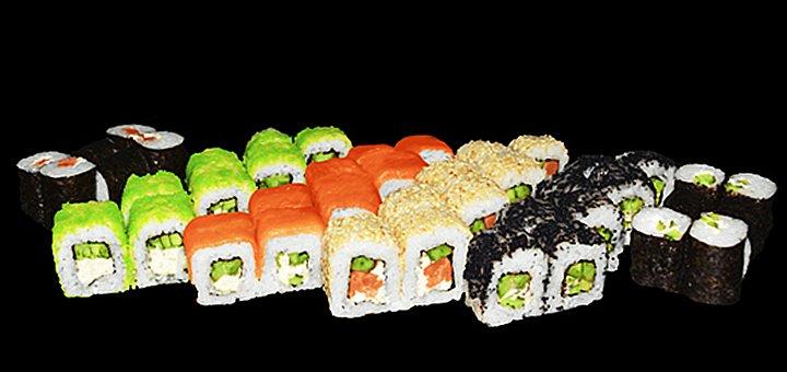 Скидка 50% на роллы и сеты японской кухни от службы доставки японской кухни «SushiGold»