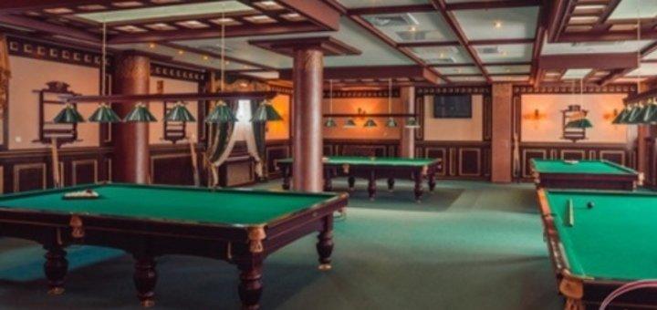 Скидка 50% на 2 часа игры в клубе боулинга и бильярда в ТРЦ «Анастасия»