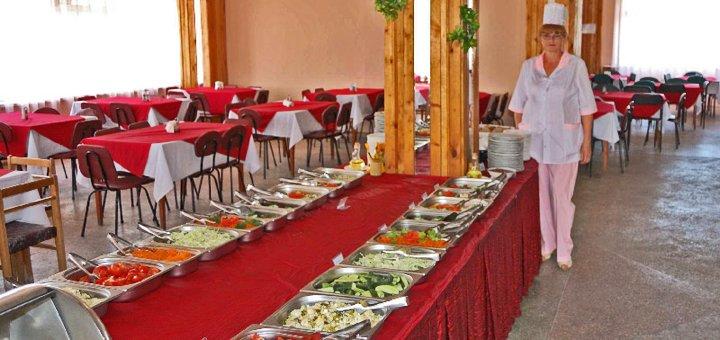 От 3 дней отдыха в июне на базе отдыха «Буревестник» в Кирилловке