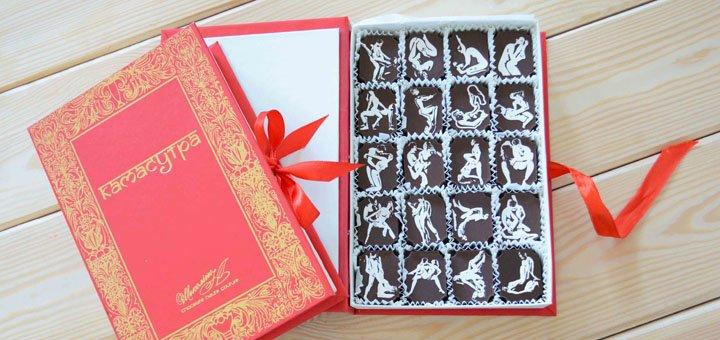Скидка 20% на подарочный набор «Камасутра» в интернет-магазине «CHOCOLINO»