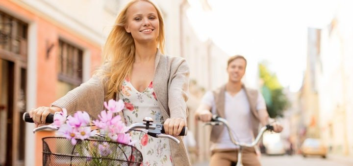 Скидка 40% на прокат велосипедов в любой день недели на Оболонской набережной от «Velom»