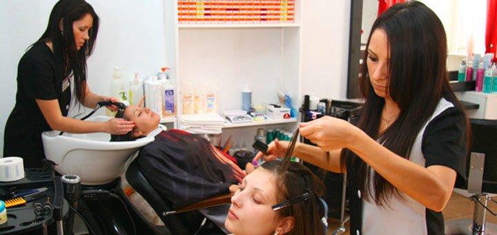 Стрижка, укладка, окрашивание, омбре, мелирование, брондирование в сети Nateo beauty studio