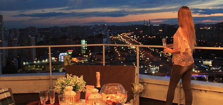 Романтическое свидание на крыше от Корпорации Купидона