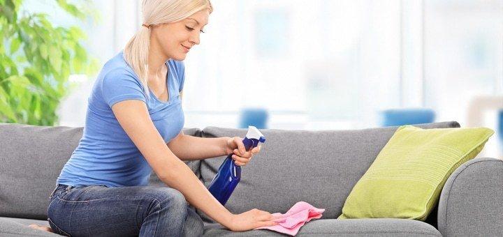 Химчистка ковров и мебели от клининговой компании «Clean group»