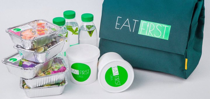 Рацион здорового питания на 1 или 3 дня от «EatFirst»
