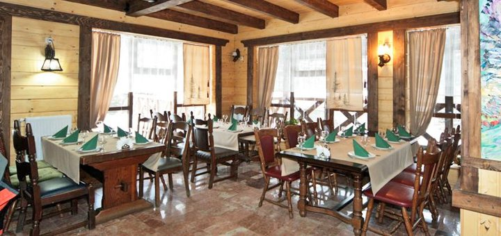 От 4 дней отдыха для двоих в отеле «Пацьорка» вблизи Буковеля