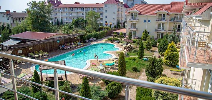 От 5 дней отдыха в комфортабельном отеле «Дельфин» 3* в Коблево на берегу Черного моря