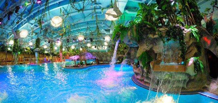 Два билета по цене одного на целый день в аквапарке «Dream Island»
