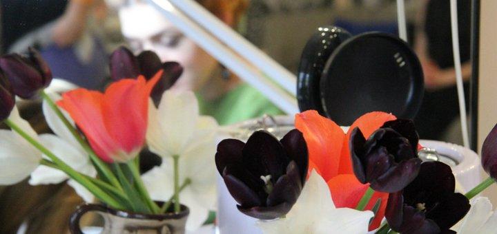 Маникюр с покрытием Shellac и SPA-уходом в салоне красоты «GEE»