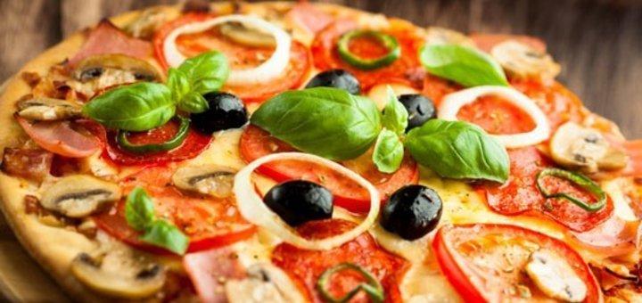 Знижка 50% на все меню піц від піцерії «Сiao Bella»