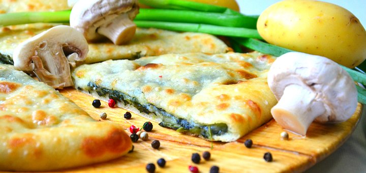 Скидка до 50% на осетинские пироги от пекарни «Осетинские пироги от Аслана»