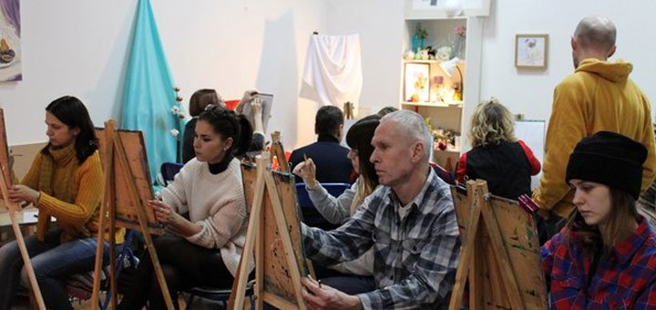 До 8 занятий курса скетчи разными материалами в студии «Штрих»