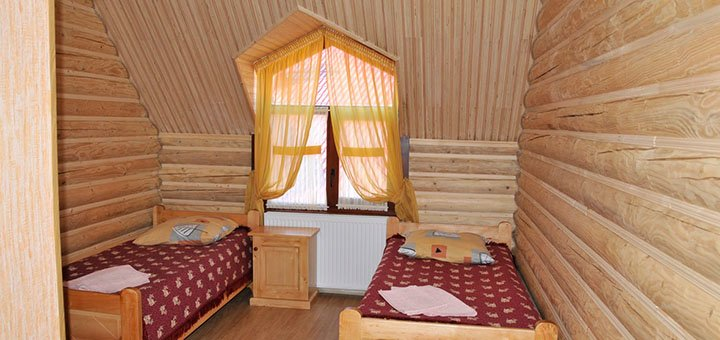 От 3 дней отдыха в отеле «Шепот Карпат» с питанием, баней, соляной комнатой в Пилипце
