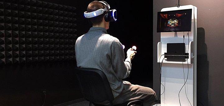 30 минут в трех комнатах виртуальной реальности «VR Zone»