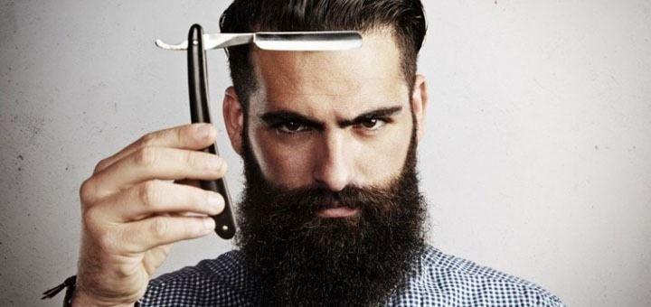 Мужская стрижка с укладкой и стрижка бороды или детская стрижка от «The Barbershop»