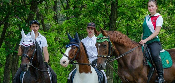 Прогулки по лесу на лошадях для детей и взрослых в клубе «Зеленый тур»