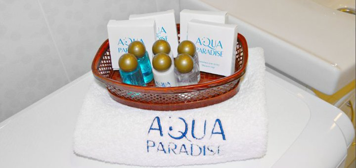 От 2 дней отдыха в элитном SPA-отеле «Aqua Paradise» в Одессе