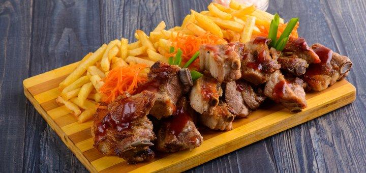 Скидка 35% на меню кухни и бара в пабе «Мойдодыр»