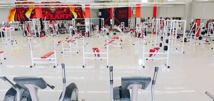 Абонемент на 1 месяц посещения тренажерного зала в фитнес-центре «Atlant Sport»