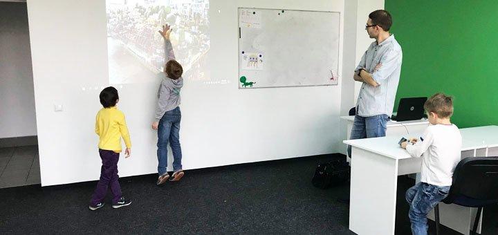 Месяц обучения для детей в IT-школе выходного дня «Main School»