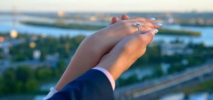 Скидка 20% на романтическое свидание на крыше (зимняя версия) от «Альтечо»