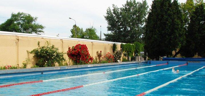 Безлимитный абонемент для новых клиентов на посещение открытого бассейна с подогревом в «ДСК-3»
