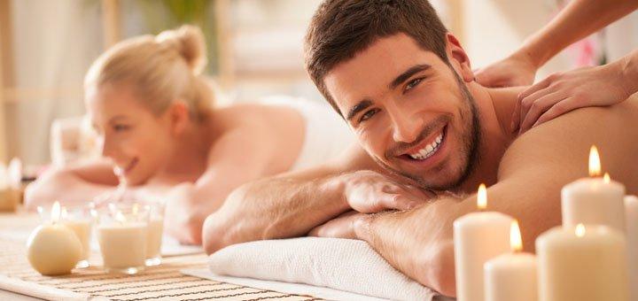 Массаж для пары в центре здоровья и красоты «New•U»