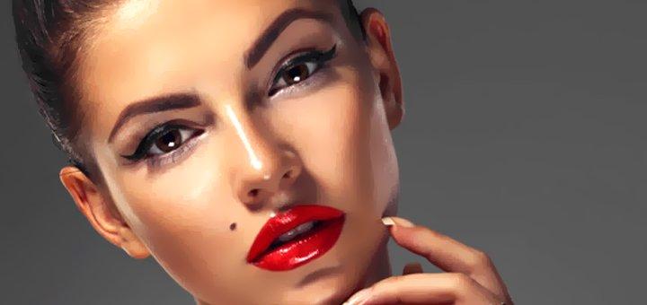Татуаж губ, век или бровей на выбор в студии татуажа «L.makeup Studio»