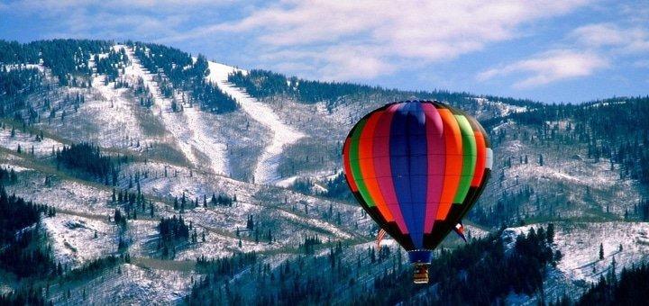 Скидка до 52% на новогодний полет на воздушном шаре от компании «Небо для тебе»