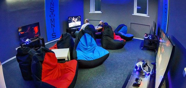 До 2 часов в игровой комнате для компании до 6 человек в игровом клубе «InSomniS»