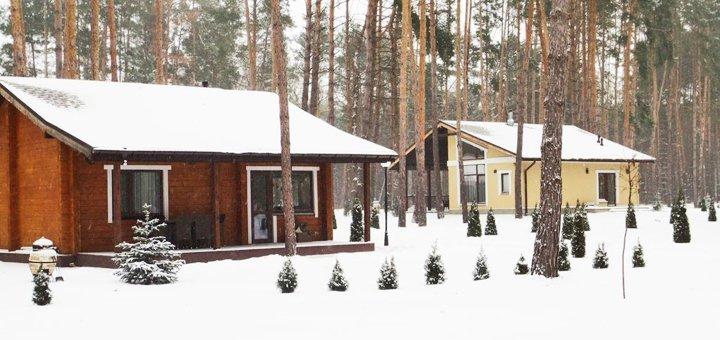 От 2 дней отдыха в парк-отеле «Тихий Лес» в Черкасской области