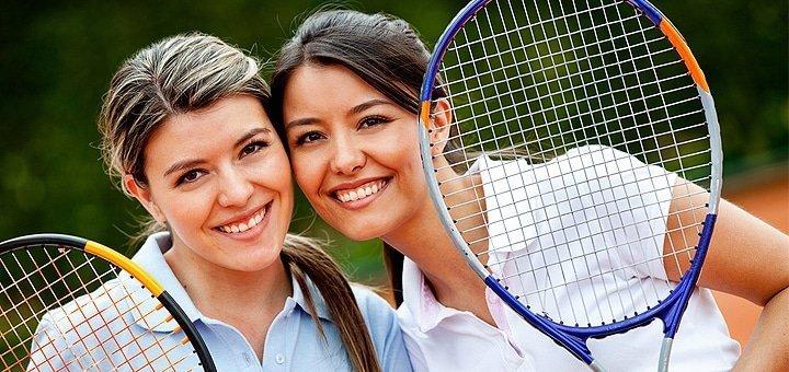 До 3 занятий большим теннисом с тренером по программе «Tennis4» для взрослых