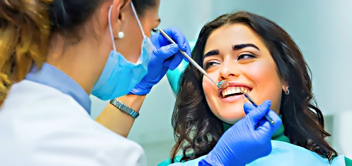Установка фотополимерной пломбы, лечение кариеса, установка штифта в «Dental-Club»