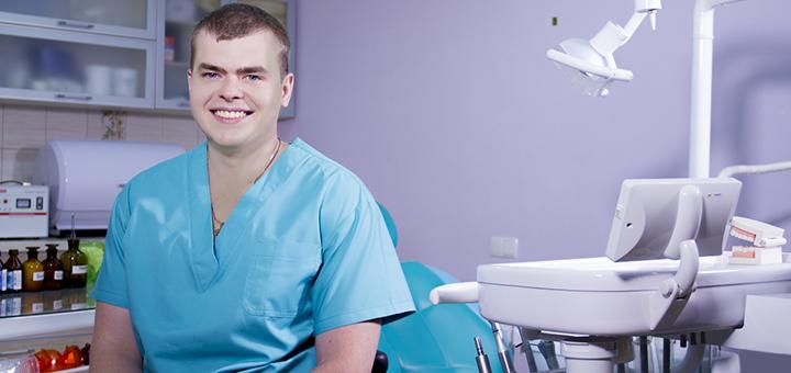 Скидка до 62% на лазерное отбеливание зубов Arde Lumine с фторированием в клинике «Посмішка 32»