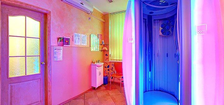 Абонемент на 20 минут на посещение сети студий загара «Экватор»