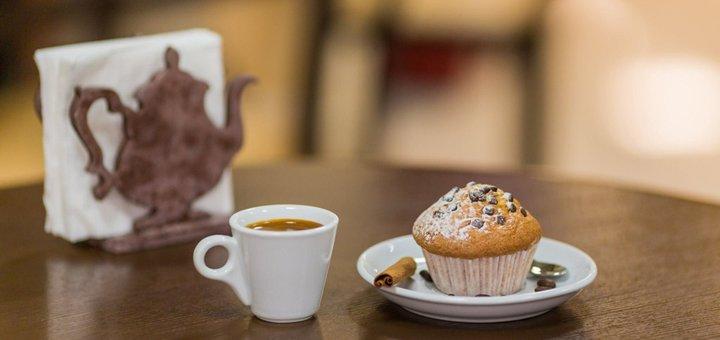 Скидка 30% на все меню в кафе-магазине «Чай-Кофе»