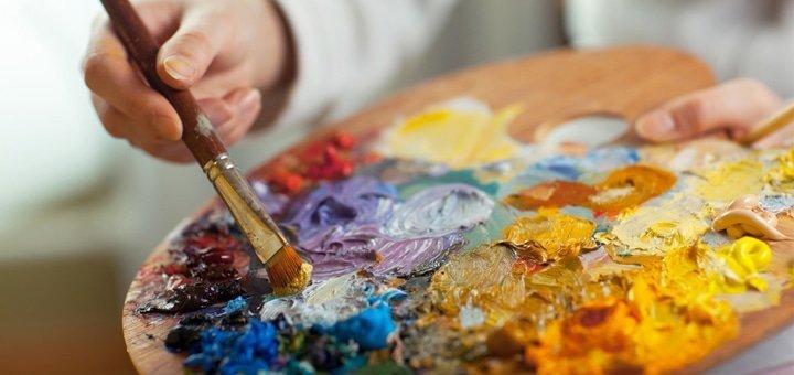 До 32 занятий масляной или акварельной живописью в художественной студии «Vostrykh Gallery»