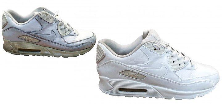 Профессиональная химчистка кроссовок, кед, зимней обуви в сникер-химчистке «Reborn»